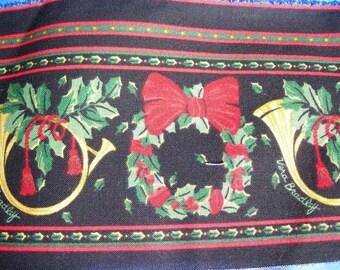 Vera Bradley Border Print Fabric Trim Christmas Holiday  Pattern. 1 yard
