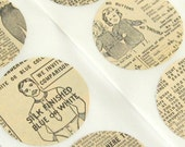 1900s Catalog Ads - Set of 6 Handmade Stickers