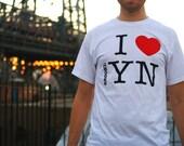 I HEART brookl YN - White