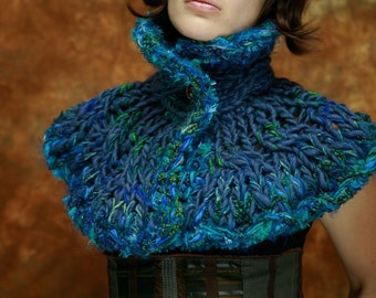 Peacock Feather Stole