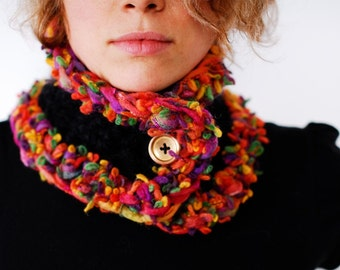 Autumn Leaves Neck Warmer