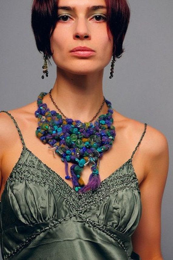 Avatar Crochet Necklace