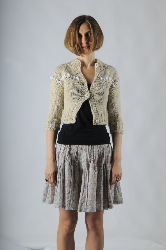 Wool Cardigan Hipster 114
