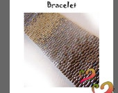 Gradient Peyote Pattern Bracelet - Ombre Bracelet Peyote Pattern - For Personal Use Only PDF Tutorial