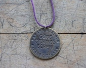 Fat Ann's Saloon Brothel Coin Necklace