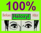100 Percent Haloxyl (R) Lighten Dark Circles NEW Reduce Under Eye Dark Circles, Firm and Tone Orbital Area