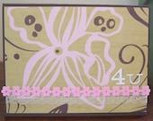 4 U Floral Card