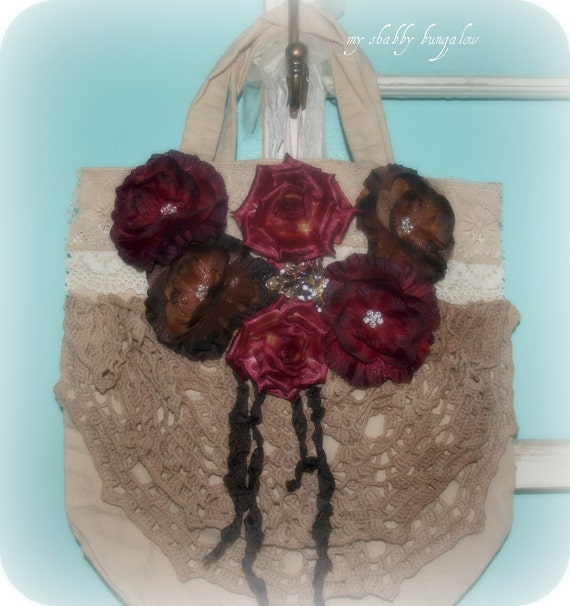 Fall tote bag, Rich fall colors