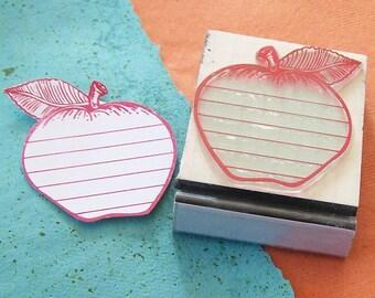 Apple Journalling Spot Rubber Stamp Scrapbooking  034