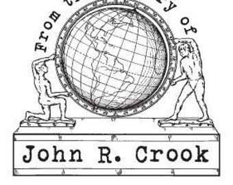 Personalized Globe Ex Libris Library Stamp Rubber Stamp D01