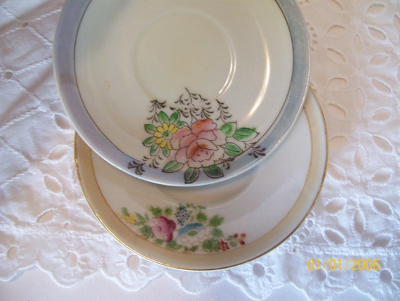 PIF - Made in Occupied Japan Demitasse Saucers