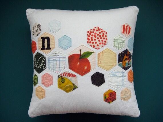 Vintage Paper Pillow No.5