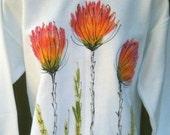 Sm Threw 5X Hand Painted Sweat Shirt