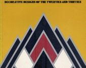 Vintage 1975 ART DECO Decorative Designs of the Twenties and Thirties DESIGN INSPIRATION