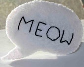 Meow Word Balloon Cat Toy
