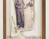 The War Bride - Shadow Box. A Unique and Original Christmas Gift for someone you love