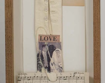 Love - Shadow Box. A Unique and Original Christmas Gift for someone you love