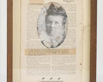 A Country Governess - Shadow Box