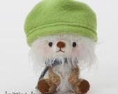 Segi - miniature amigurumi teddy bear plush toy- made to order -