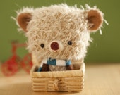 Little bear plushie toy - made to order- Pupi -