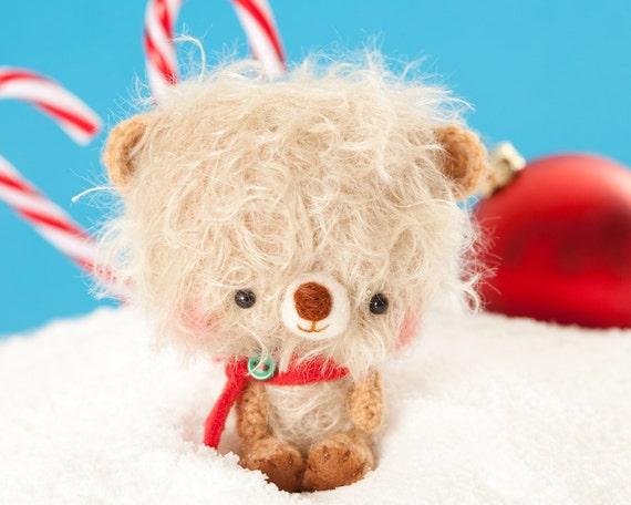 Amigurumi teddy bear plush toy - made to order - Mumo