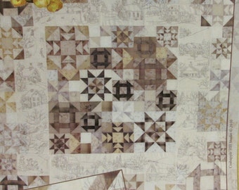 Snow Days Quilt Pattern by Crab-Apple Hill (263) PLUS Cosmos Seasons Variegated Floss - 45.00 Dollars