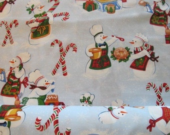 Snow Delicious - Cool Retro Christmas Fabric - By Alexander Henry - 8.75 Per Yard