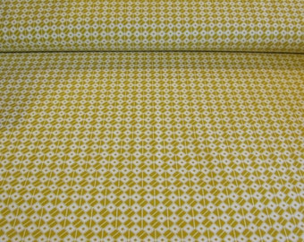 SALE - Bell Bottoms Fabric by Jennifer Paganelli  - Yellow - 1  Yard - 5.50