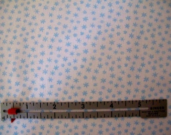 Blue Snowflakes - 7.00 For One Yard