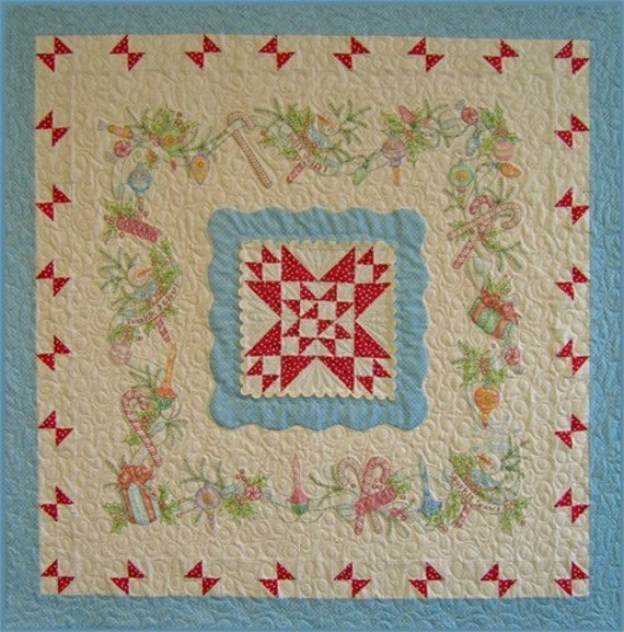 Merry Little Christmas- 414   - Quilt Pattern by Crab-Apple Hill - 22.00