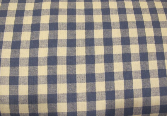 LAST Yard - Moda Classic Summer Brights - Blue and White Check - 4.00 Dollars