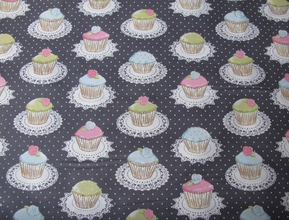Quaint Cupcakes by Michael Miller - 1 Yard For 9.25 Dollars