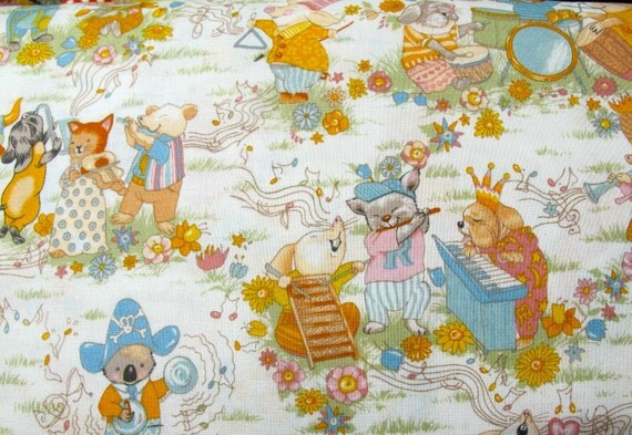 SALE Be-Bop -Cool Childrens And Baby Fabric By Alexander Henry - 9775 Per Yard