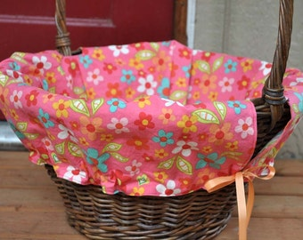 READY TO SHIP -- Basket liner