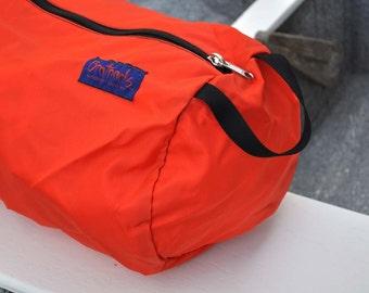 Large Tube Pouch - orange
