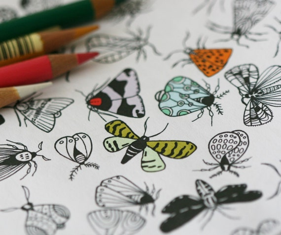 Colour In Collaboration No. 3 - Printable Colour In Pages