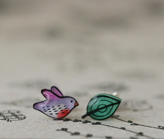 NightFinch - Earring Studs