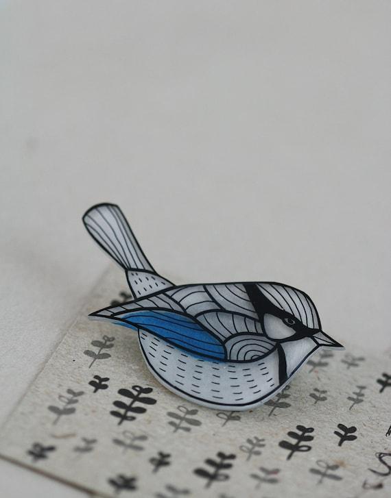 RESERVED - Splendid Wren Pin