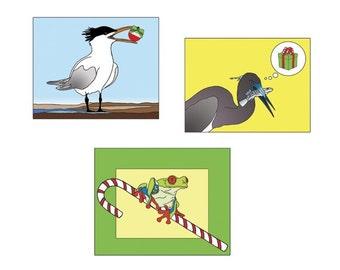 Tropical Holiday Card Sampler Pack by Lisa Karen Ward