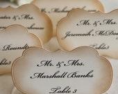 Custom Listing For Anna G. - Wedding Escort Cards - Wedding Place Cards - Wedding Seating Cards