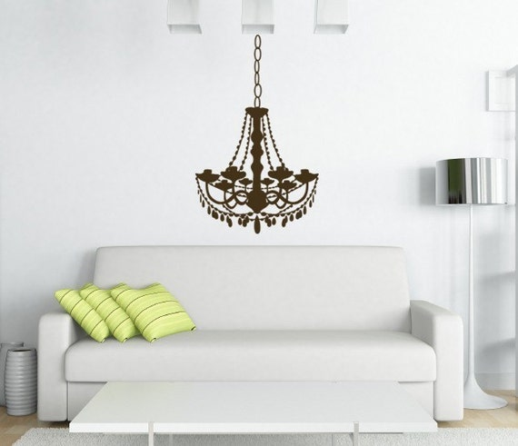 Vintage Chandelier Wall Decal