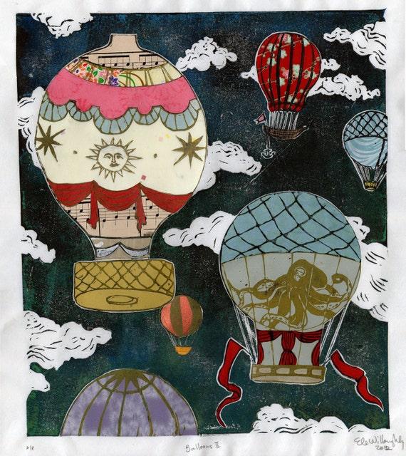 Hot Air Balloons II- Multimedia