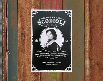 Madame Scodioli Poster 11x17