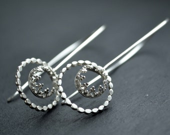 Family Jewel box - sterling silver earrings
