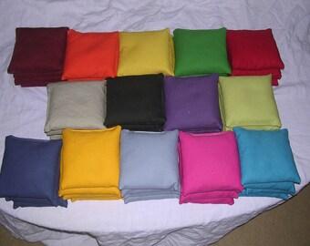 Solid Cornhole Bags Set of 16 Bags