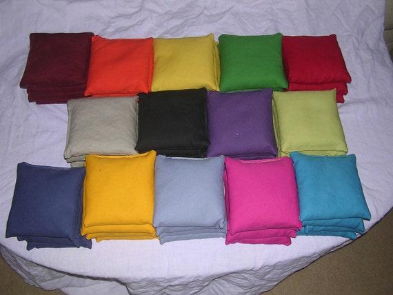 Solid Cornhole Bags 8 bags