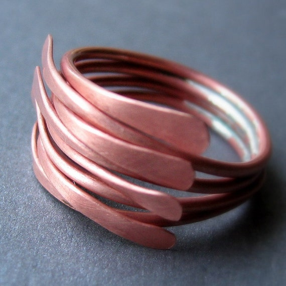 Copper Kalimba ring