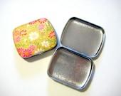 Small Hinged Pill Box or Mint Tin (choice of 1)