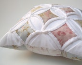 Miniature Cathedral Window Pillow Pincushion - 5 Inches Square