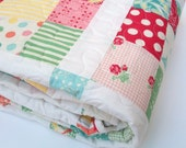 Sweet by Urban Chik Quilt 1950's Flair Lap Quilt - 50x68